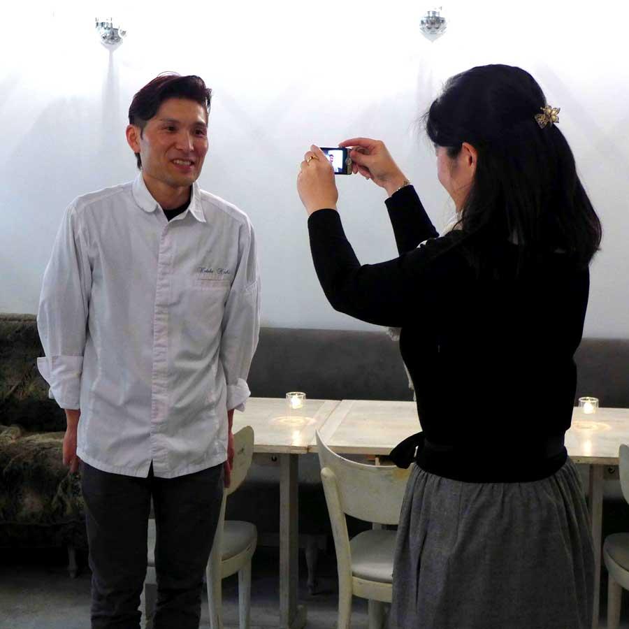 Le chef Hideki Nishi