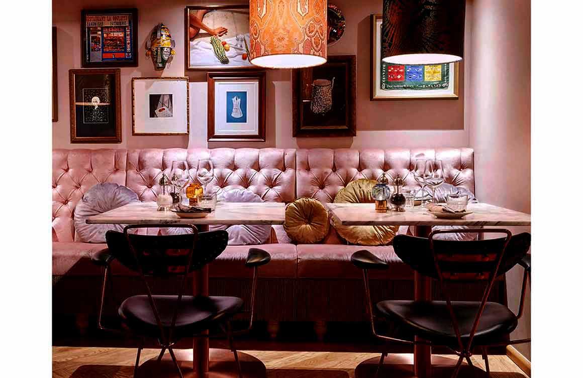 Restaurant Neni : La salle