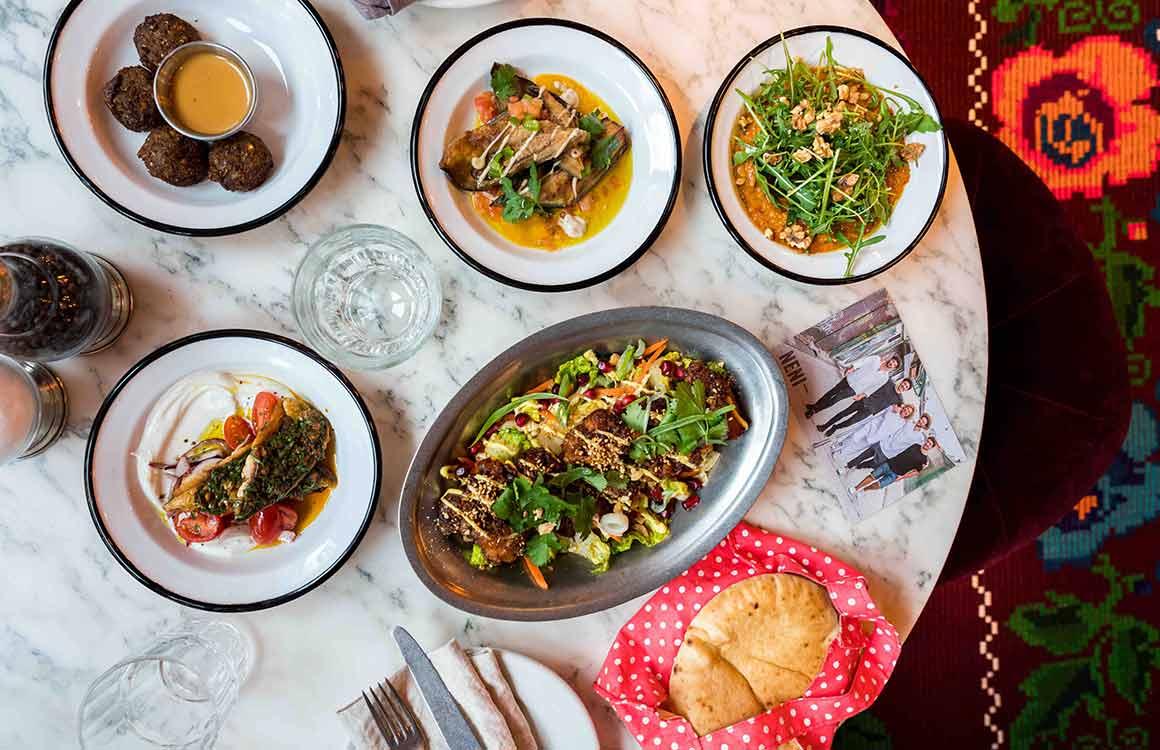 Restaurant Neni : Déclinaison de mezzés