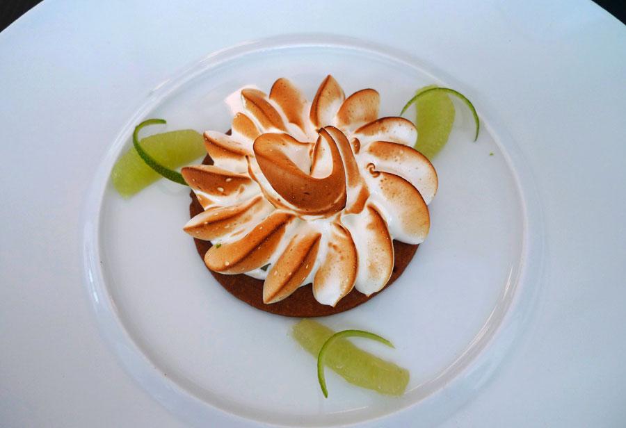 Neva Cuisine, tarte citron meringuée et citron vert