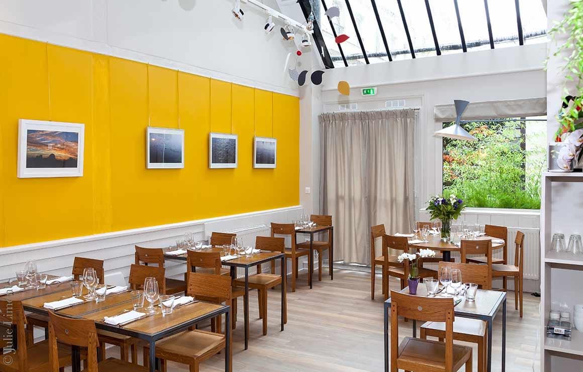 Restaurant Niebe : La salle