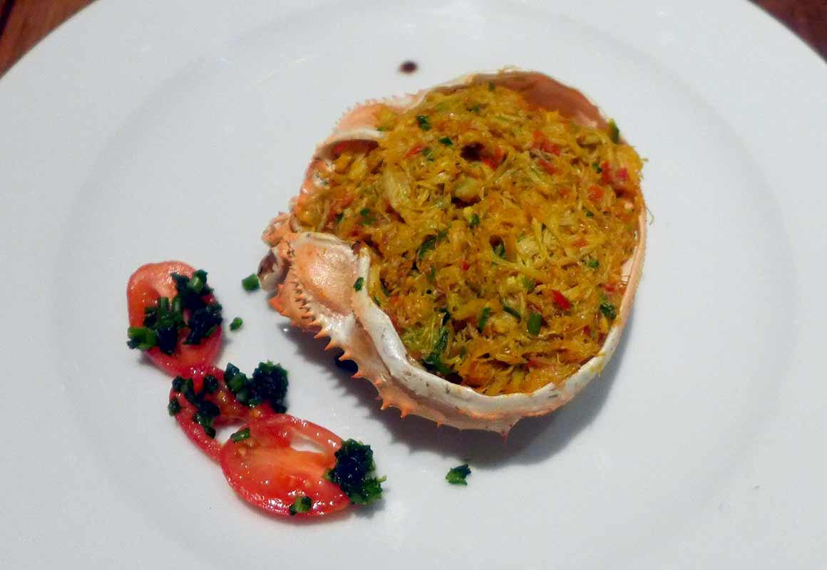 Restaurant Niebe : Casquinha de siri