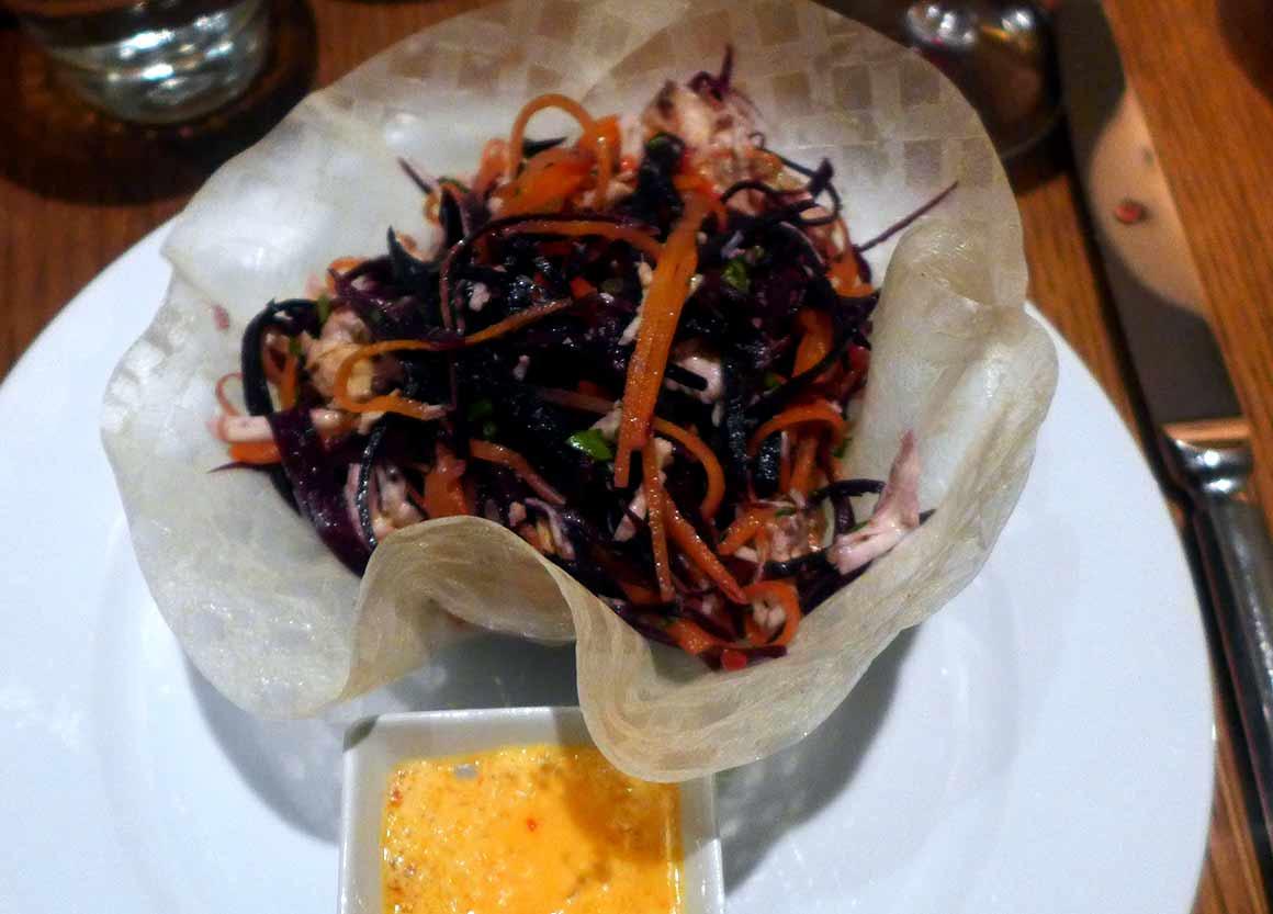Restaurant Niebe : Salade Salpico