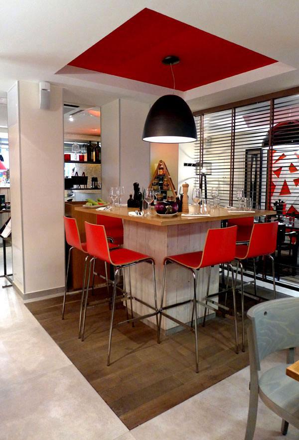 Restaurant NON SOLO PIZZE, Le comptoir central