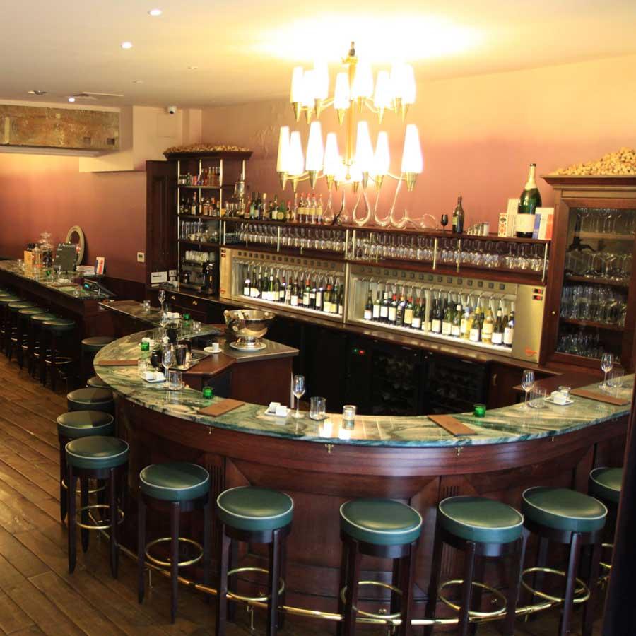 Restaurant O Chateau, le bar