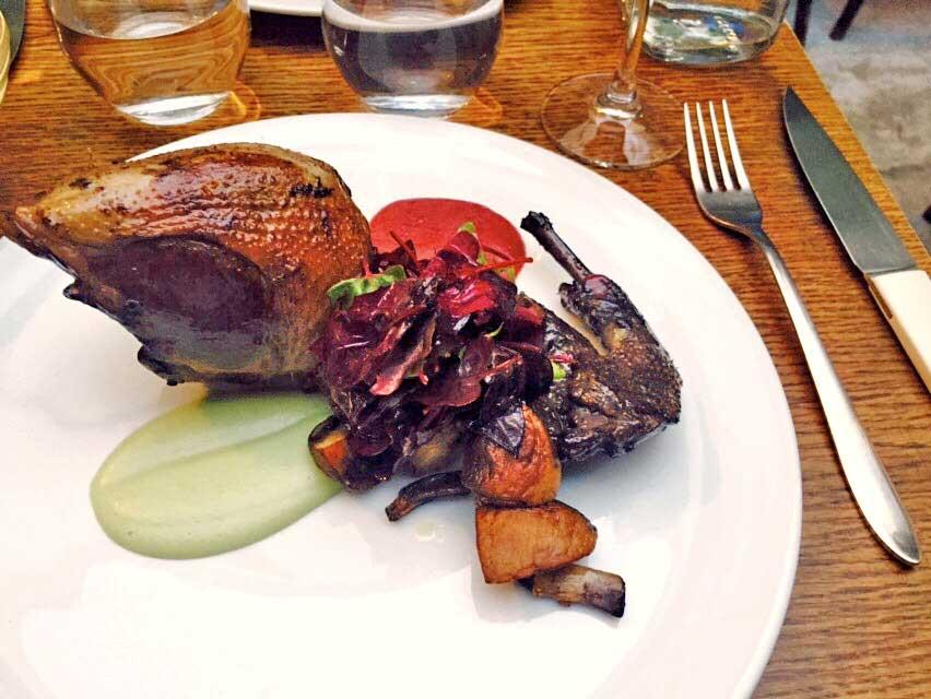 Restaurant O Divin : Pigeon à l'étouffé