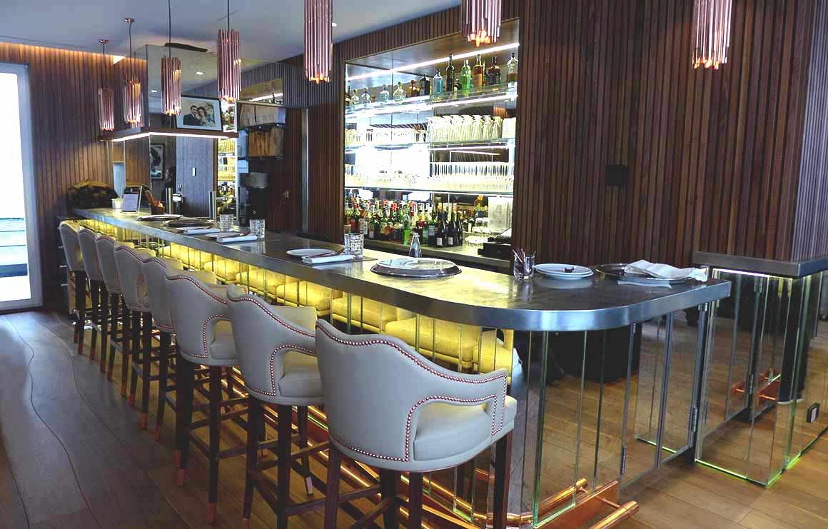 restaurant Odette, la salle et le bar