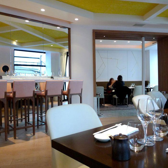 Restaurant Orient Extrême Neuilly, la salle