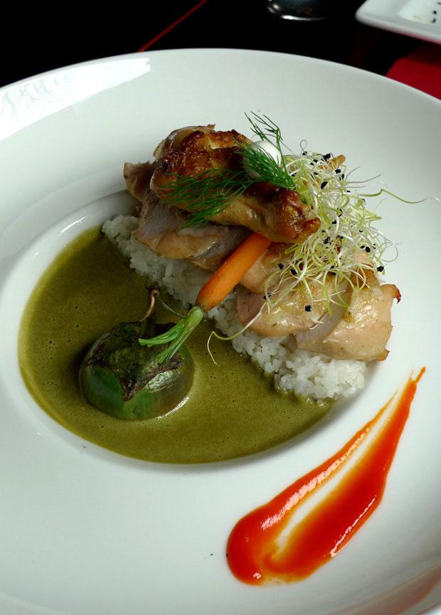 Restaurant AUX TROIS NAGAS : Suprême de poulet au curry
