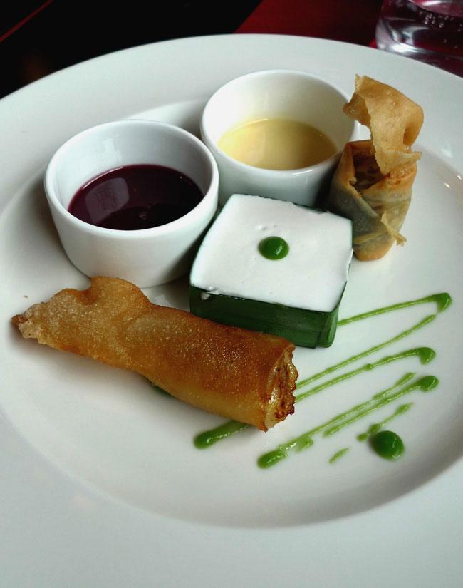 Restaurant AUX TROIS NAGAS : Assortiment de desserts