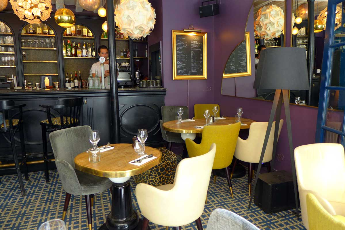 Restaurant Pamela Popo, la salle