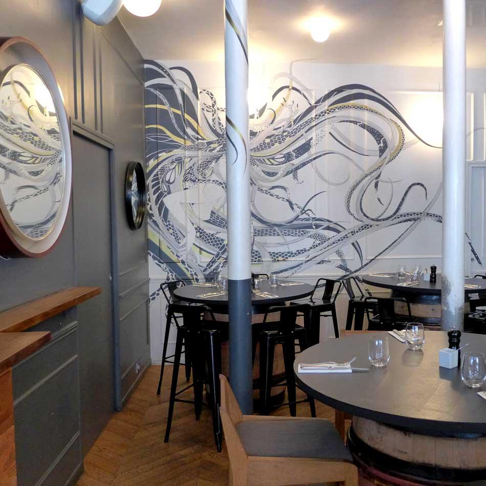 Restaurant Partisan : La salle