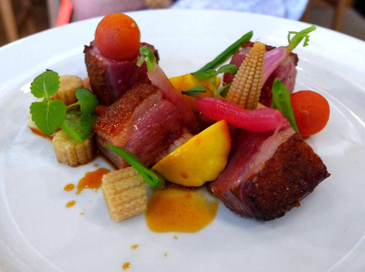 Restaurant Partisan : Magret de canard