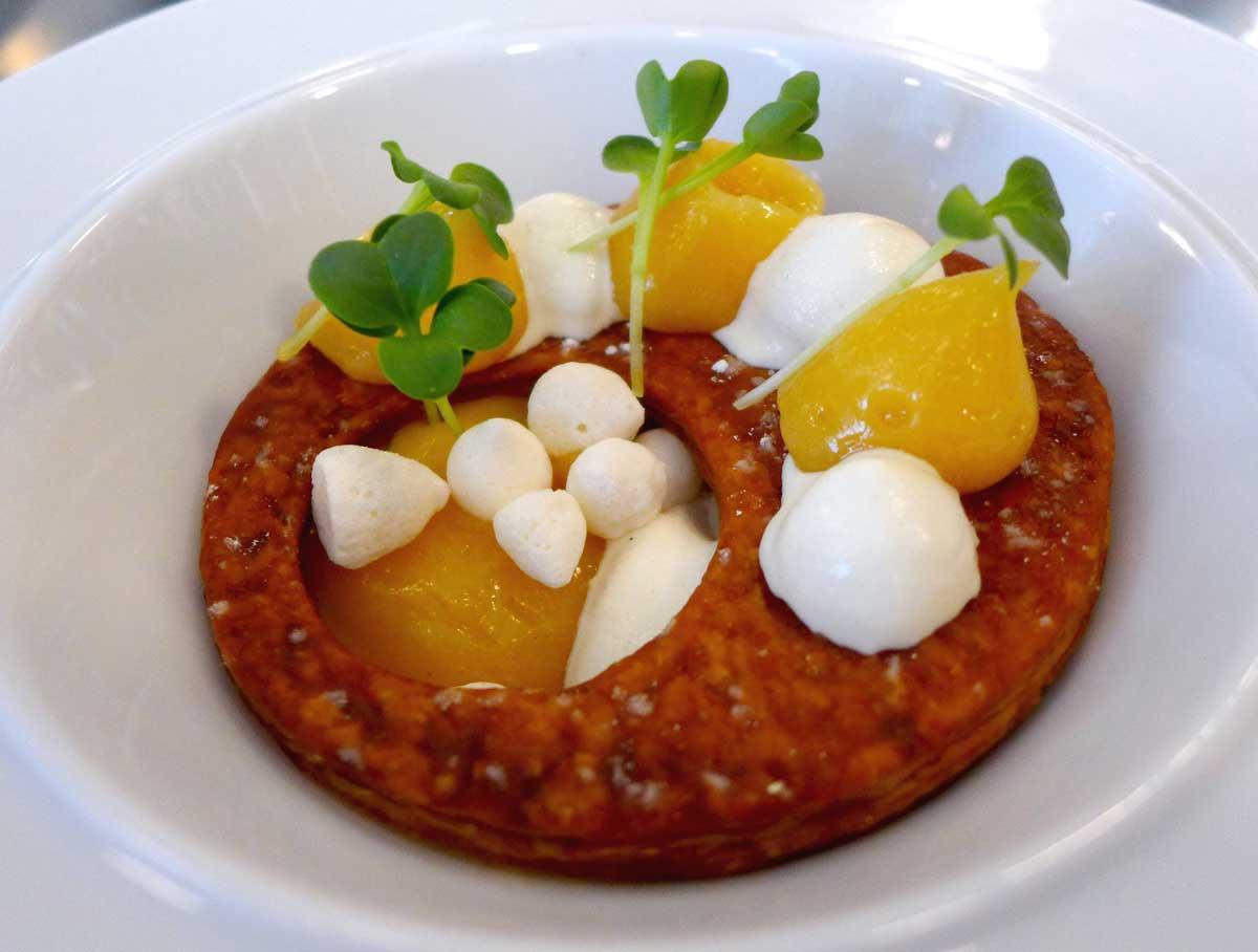 Restaurant Partisan : Tarte au citron meringuée