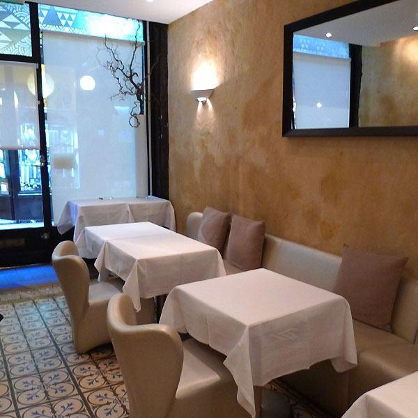 Restaurant Le Passage 53, la salle