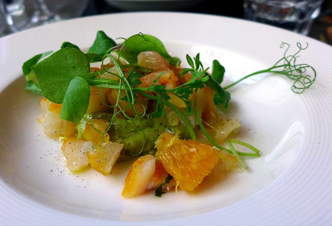 Restaurant Les Caves de Prague : Tartare de haddock
