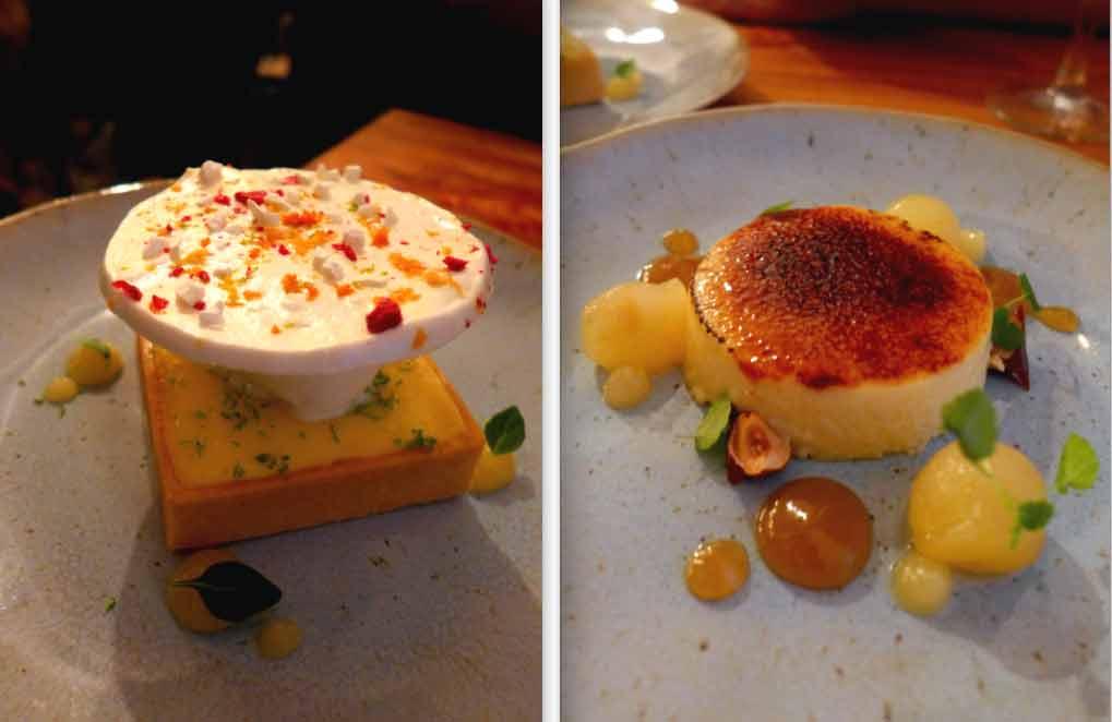 Restaurant METROPOLITAIN : Tarte au citron de Menton