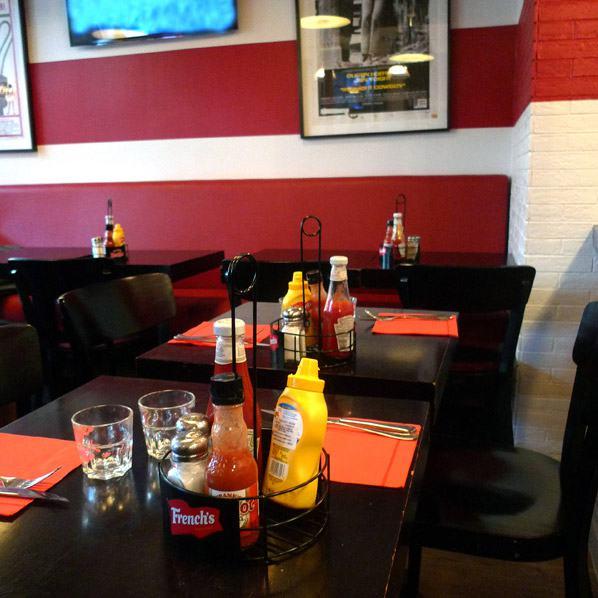 Restaurant PDG Marais, la salle