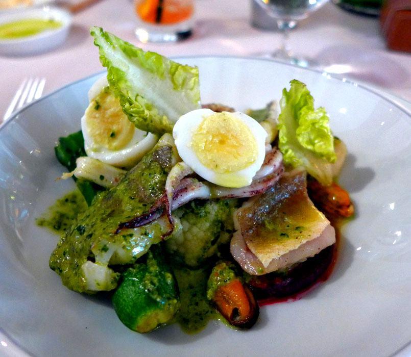 Restaurant Penati al Baretto : Le