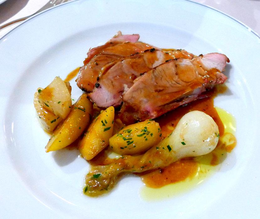 Restaurant Penati al Baretto : Pièce de veau de