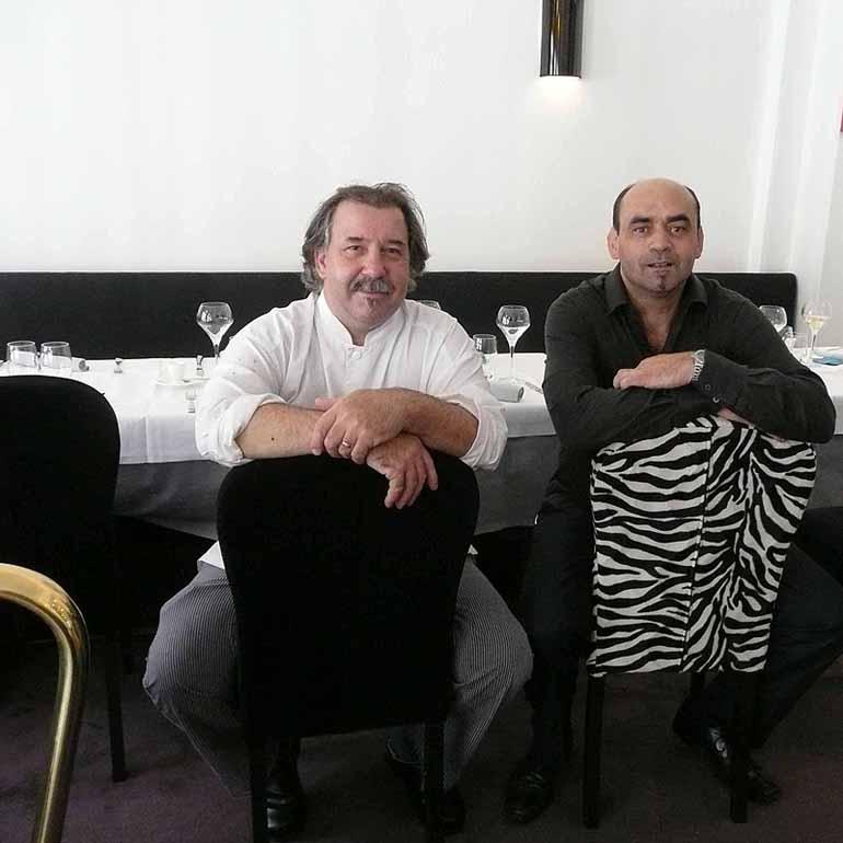 Restaurant Pierre, Pascal Bataillé et Eric Sretour