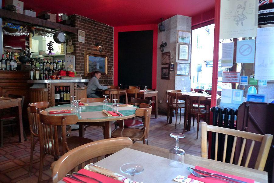 Restaurant Pulcinella, la salle du restaurant
