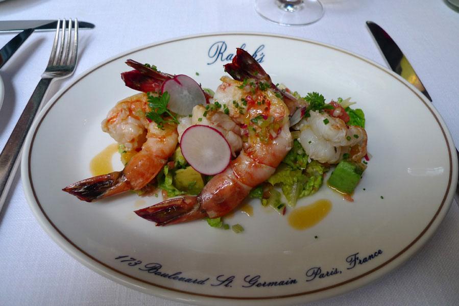 Ralph's Ralph Lauren : Shrimp cocktail