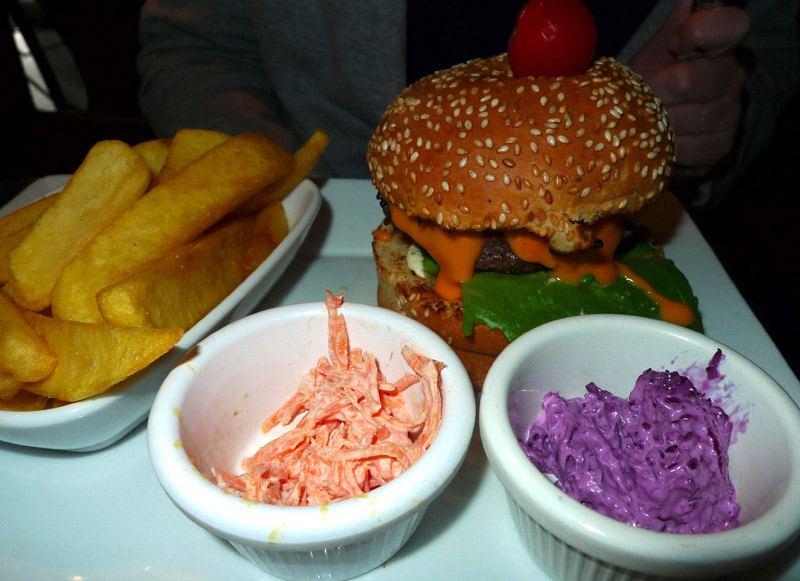 Restaurant Razowski, Classic burger