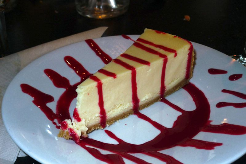 Restaurant Razowski, cheesecake