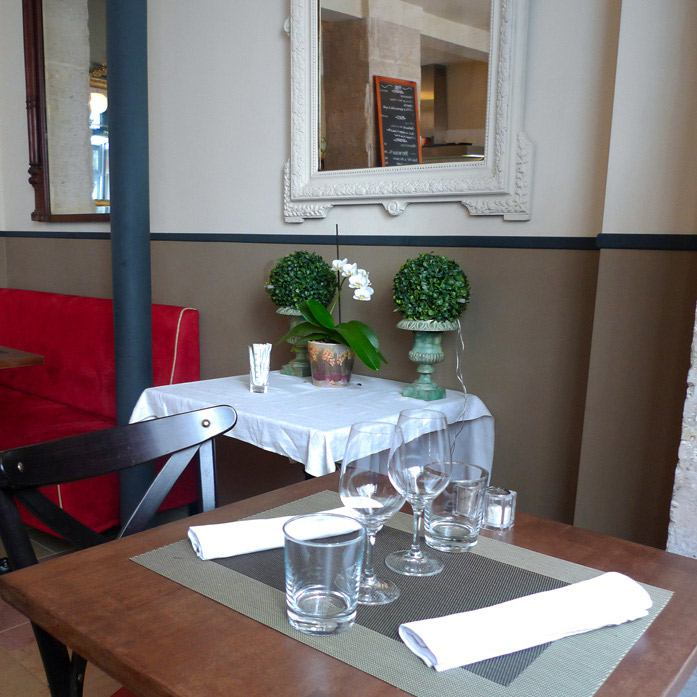 Restaurant Reed, la salle