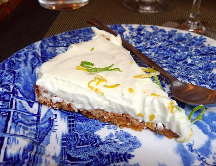 Restaurant Reed, cheesecake