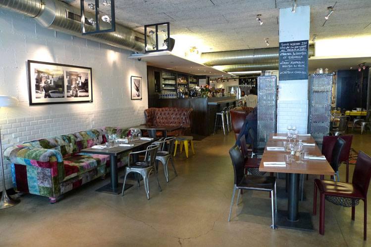 Remona Café Gallery, la salle