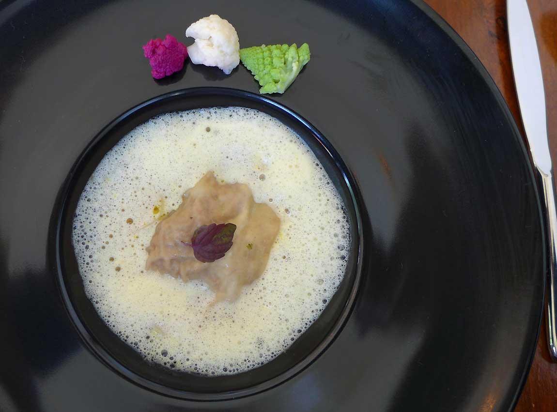 Restaurant AG, Raviole de veau