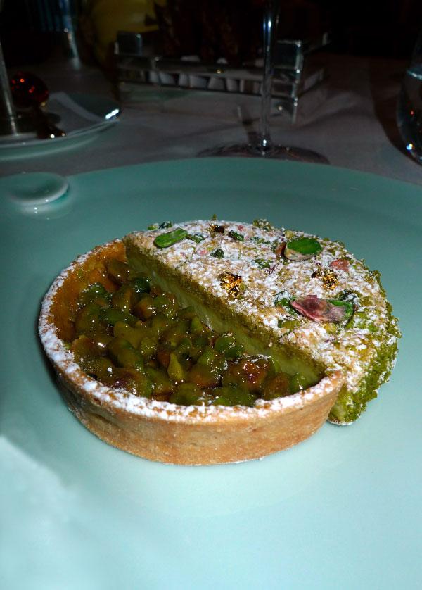 Restaurant Alain Ducasse : Le pistache-praliné