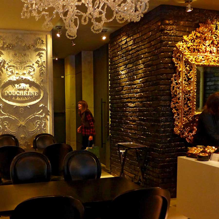 Restaurant Café Pouchkine : La salle
