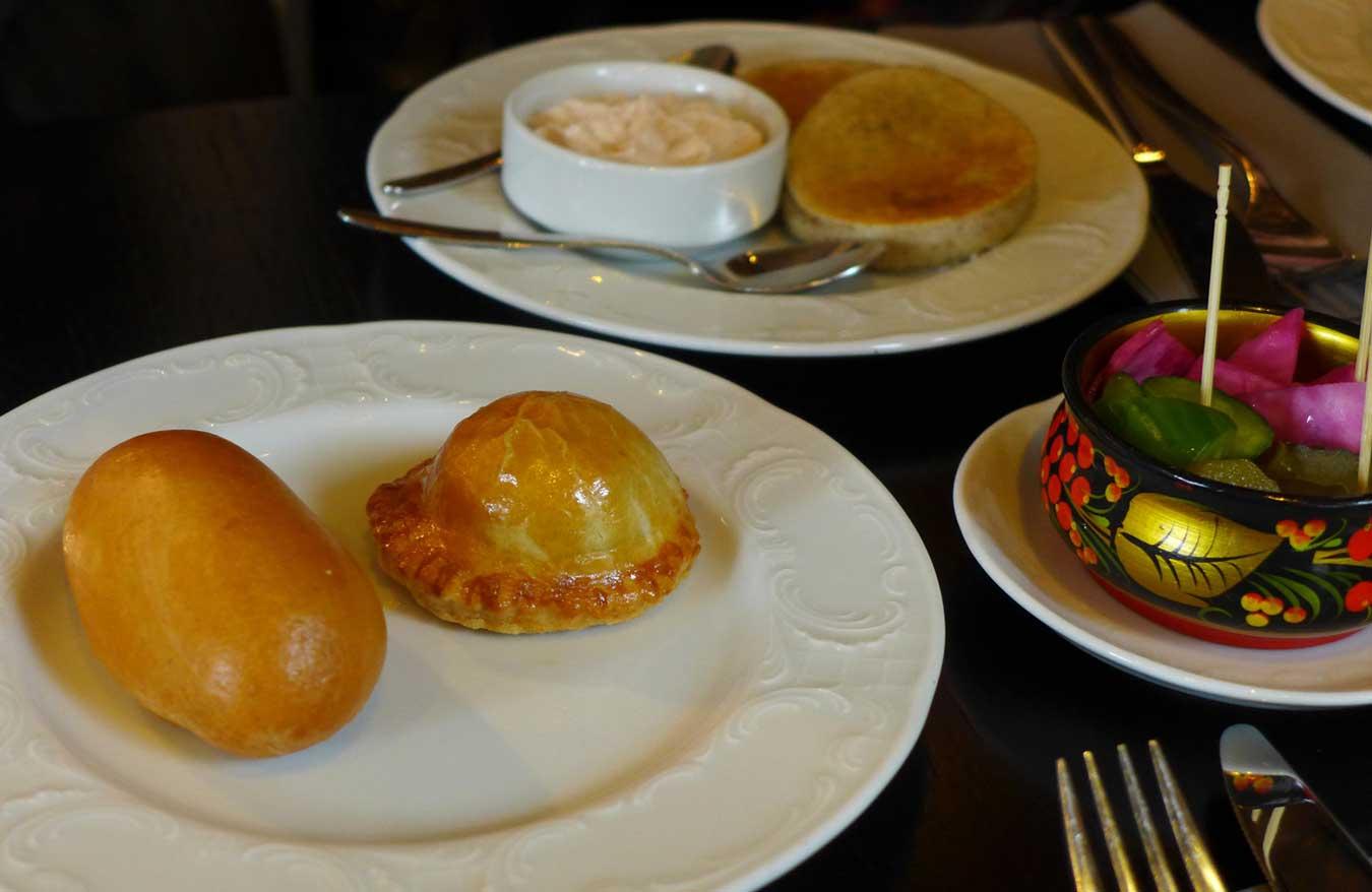 Restaurant Café Pouchkine : Les Zakuskis