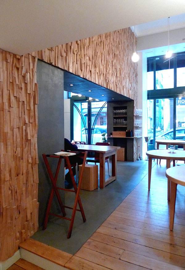 La salle du restaurant David Toutain