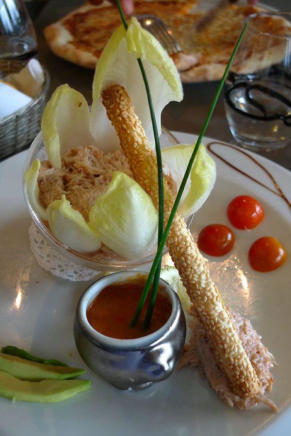 Restaurant de la Plage de monsieur Hulot : Verrine de chair de crabe