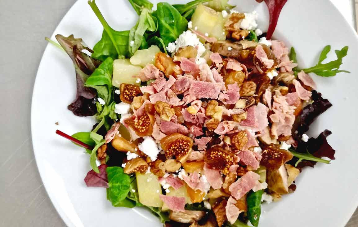Restaurant Elémentaire : Salade grenaille