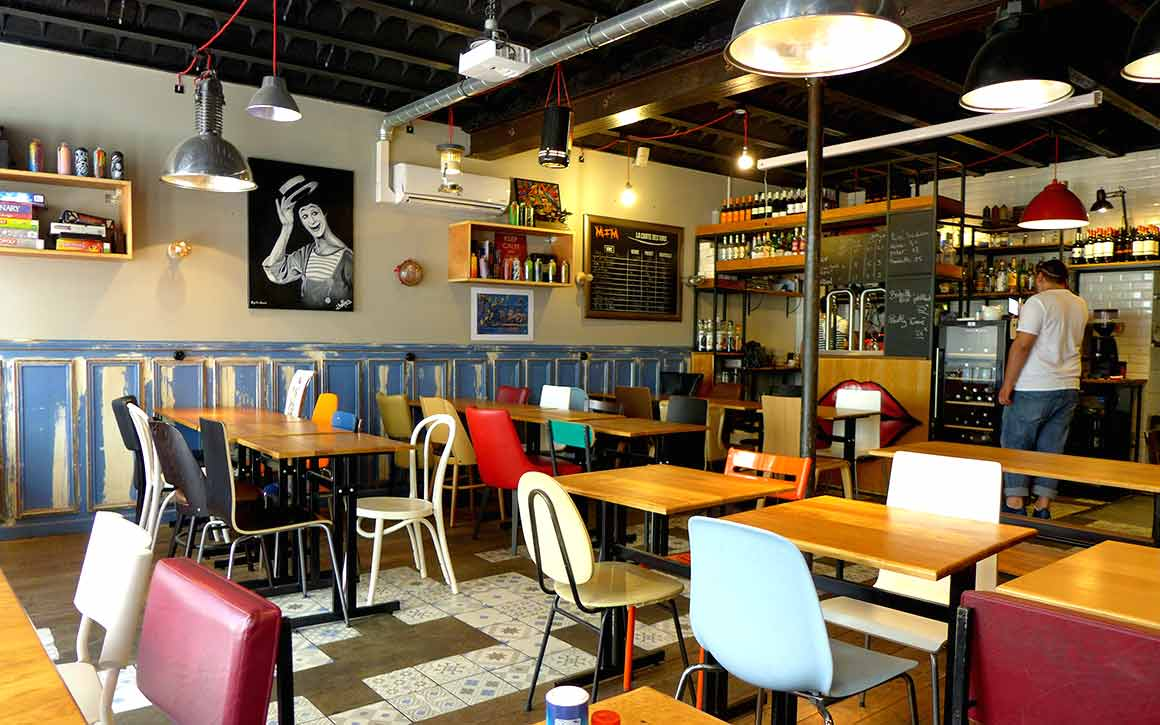 Restaurant Mim : La salle