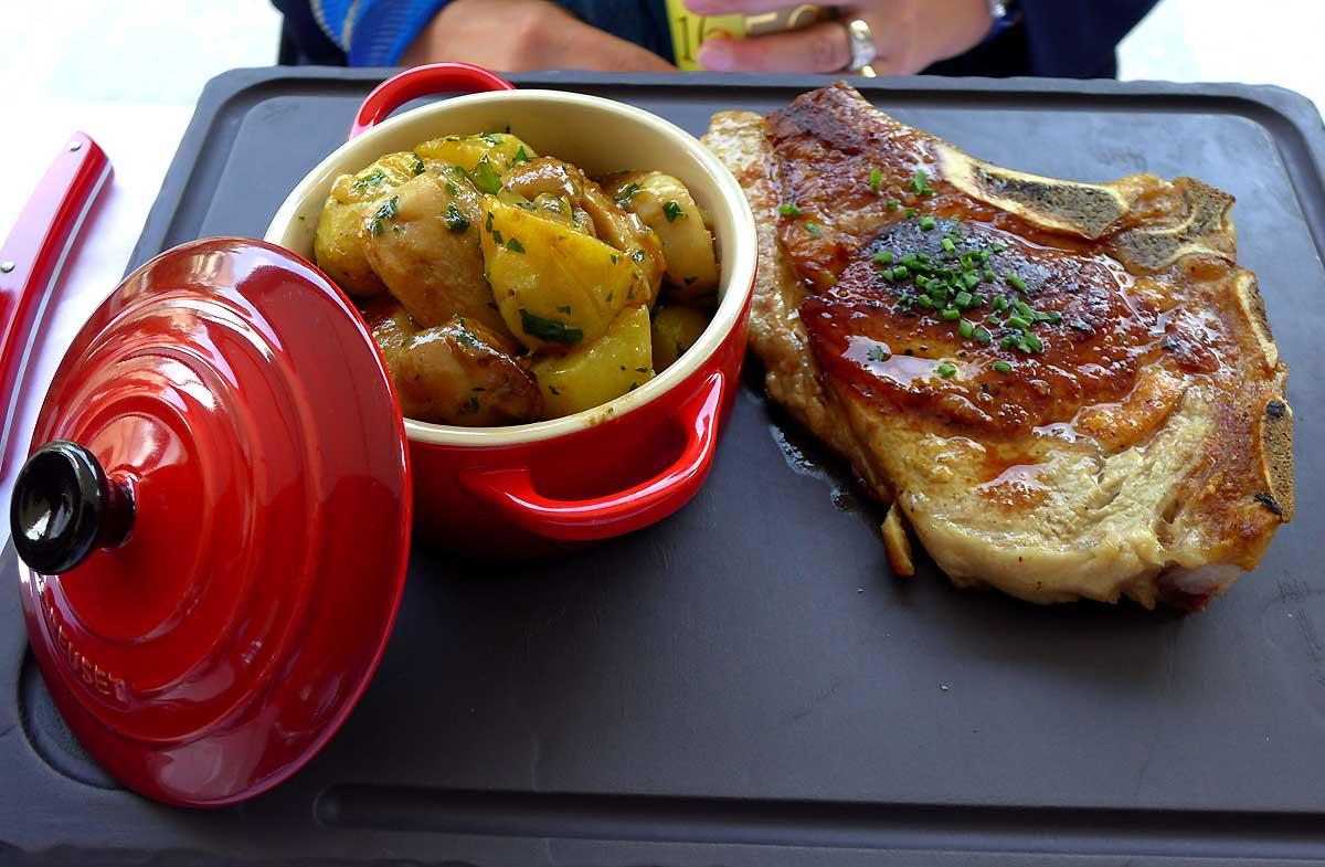 Restaurant Paul, côte de veau