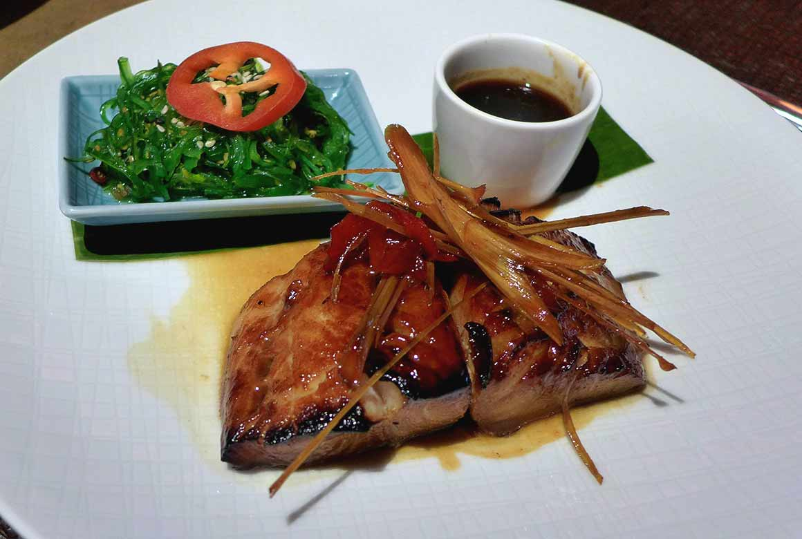 Restaurant T' U : Black Cod