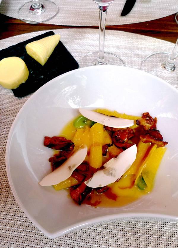 Restaurant La Cuisine, pâte mi-séchée en sauté gourmand