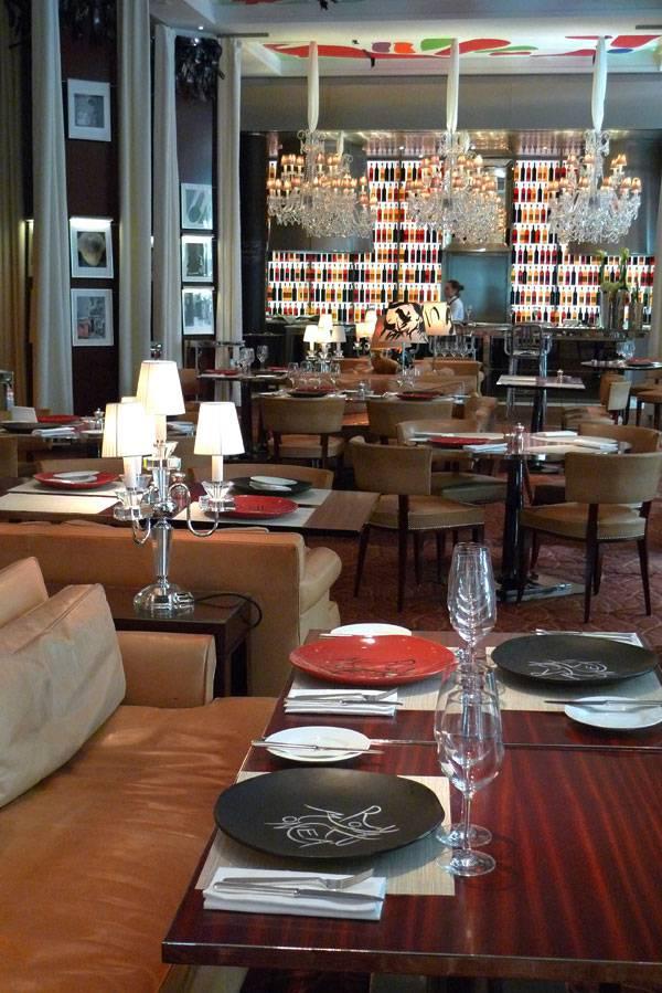 Restaurant La Cuisine, la salle