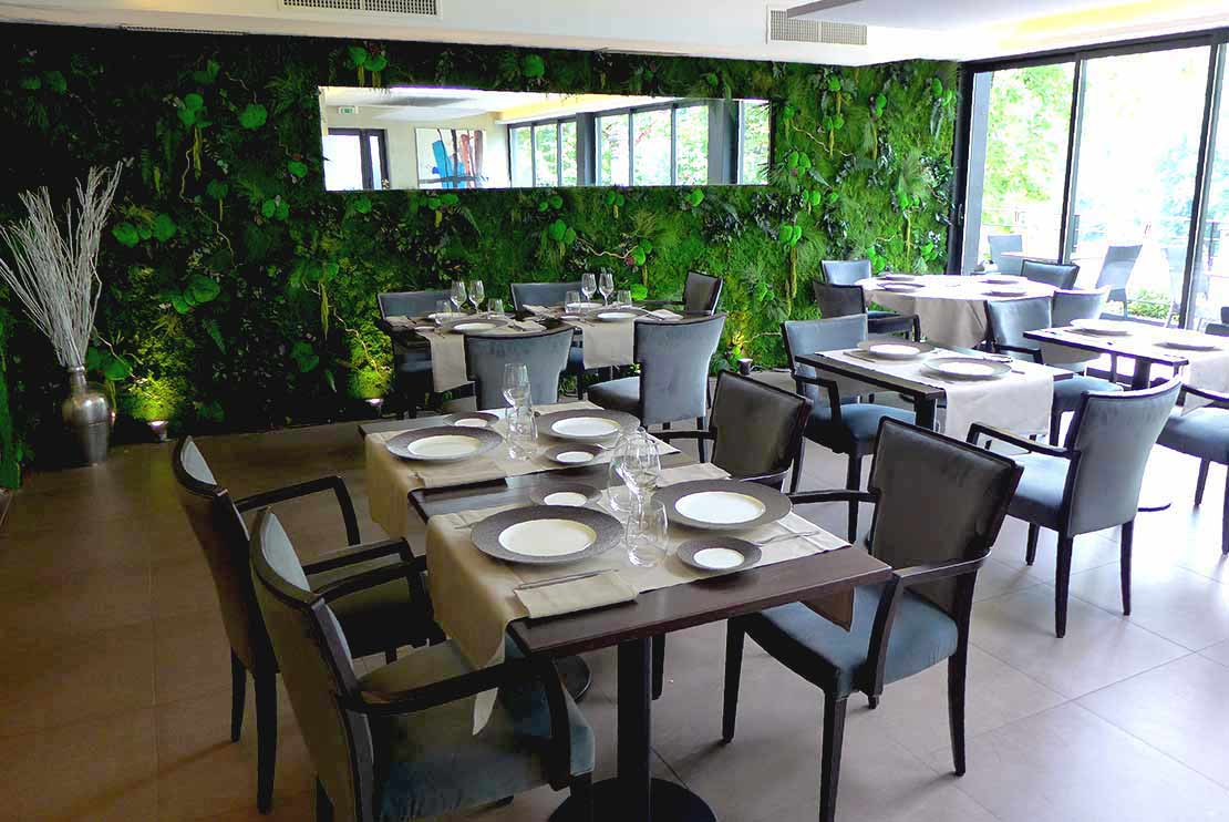 Restaurant La Passerelle : La salle