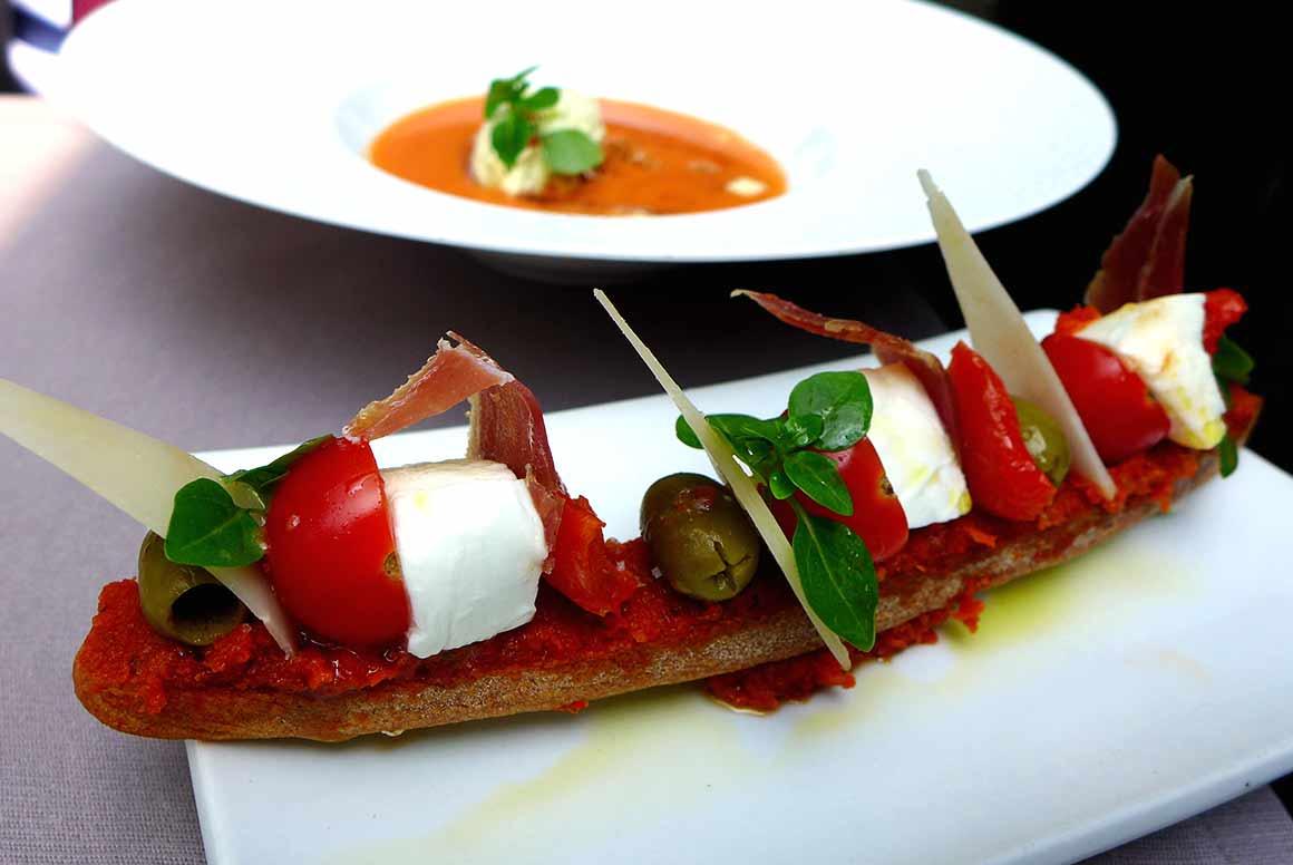 Restaurant La Passerelle : Gaspacho du 3eme millénaire