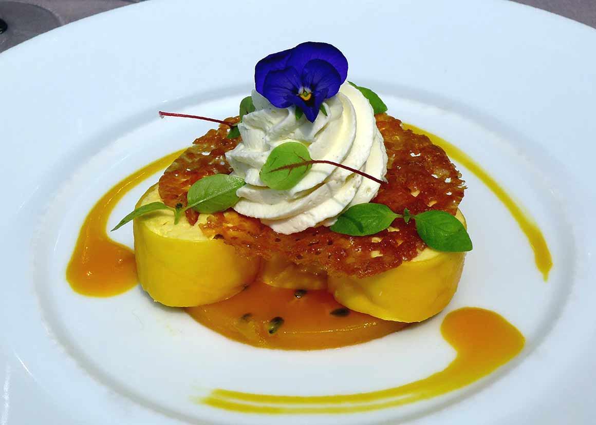 Restaurant La Passerelle : Maki de mangue
