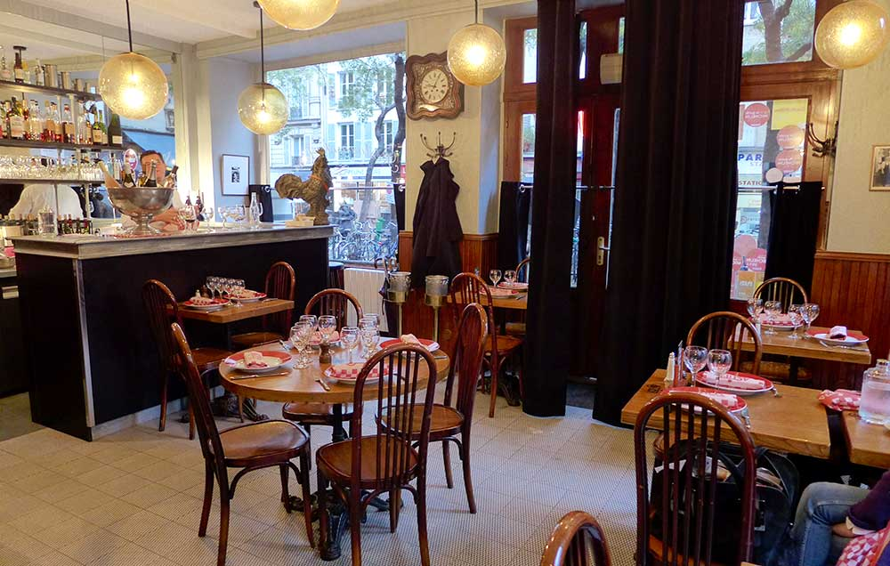 Restaurant Astier, un joli cadre rétro