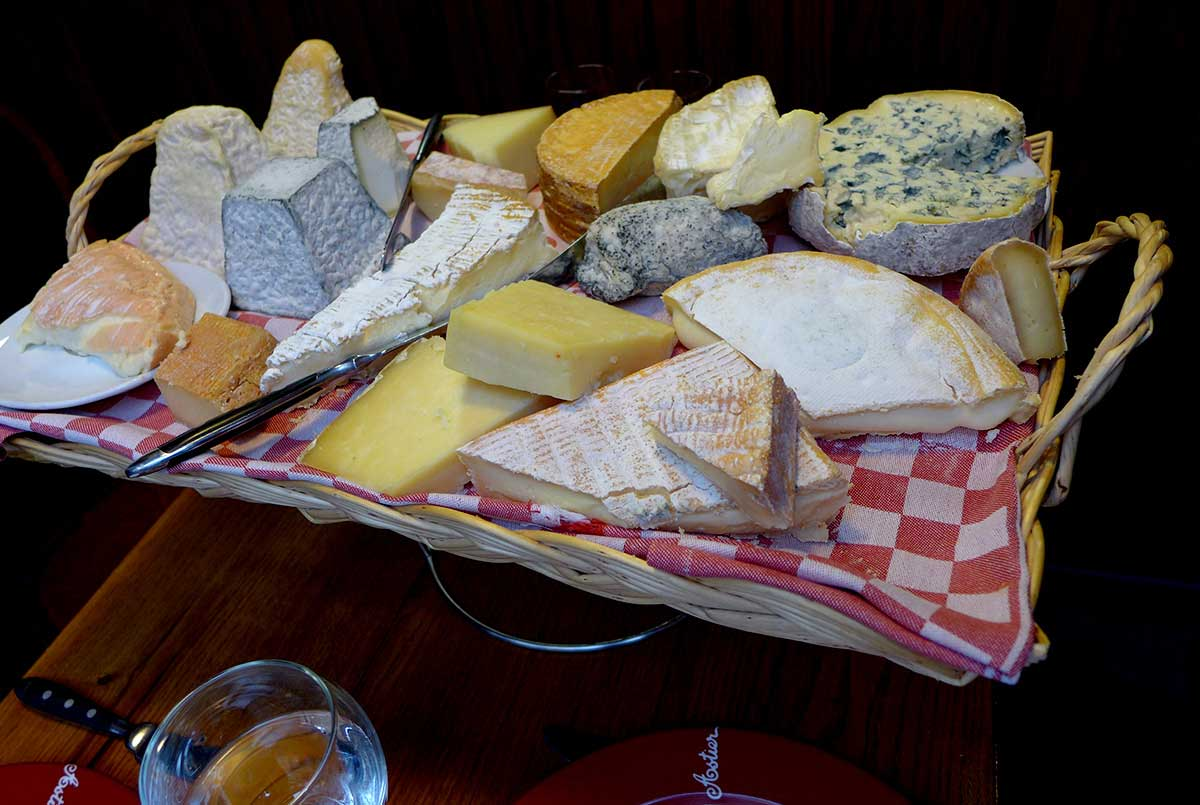 Restaurant Astier, les fromages