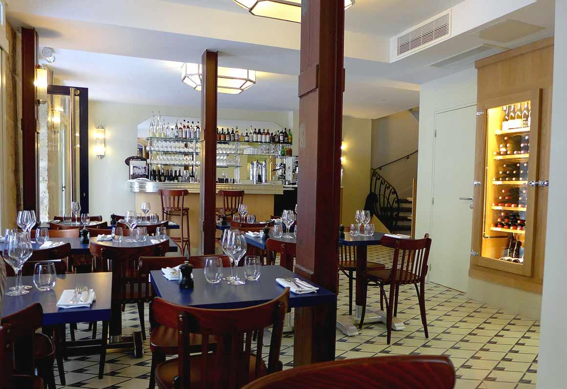 Restaurant Jais, la salle